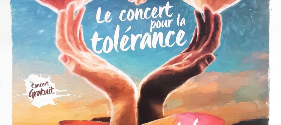 Le concert pour la tolérance
